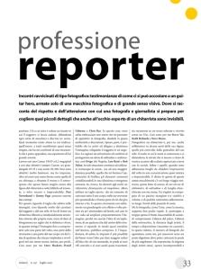 professione reporter articolo